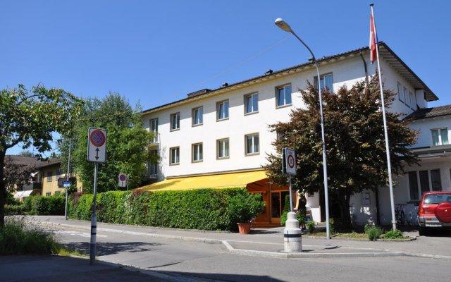 Hotel Landhus вид на фасад
