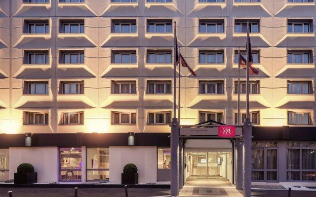 Отель Mercure Paris Porte d'Orléans Франция, Монруж - отзывы, цены и фото номеров - забронировать отель Mercure Paris Porte d'Orléans онлайн вид на фасад