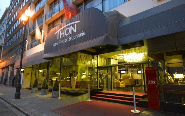 Отель Thon Hotel Bristol Stephanie Бельгия, Брюссель - 1 отзыв об отеле, цены и фото номеров - забронировать отель Thon Hotel Bristol Stephanie онлайн вид на фасад