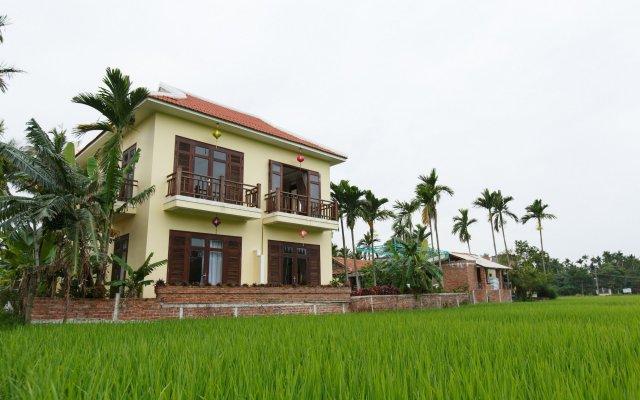 Отель Lama Homestay Hoi An вид на фасад