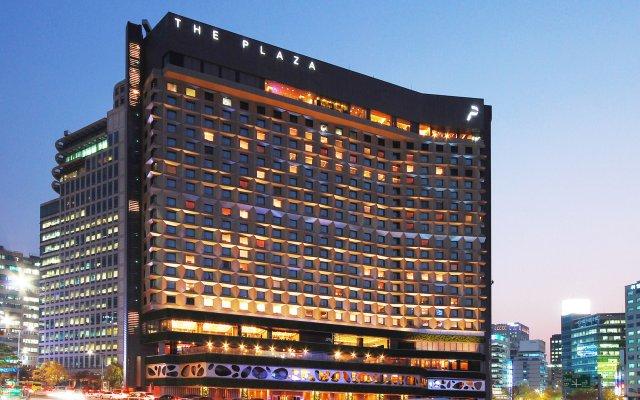 Отель THE PLAZA Seoul, Autograph Collection Южная Корея, Сеул - 1 отзыв об отеле, цены и фото номеров - забронировать отель THE PLAZA Seoul, Autograph Collection онлайн вид на фасад