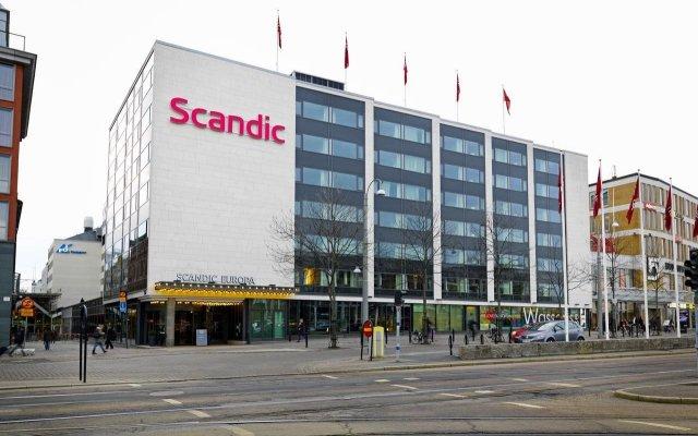 Отель Scandic Europa вид на фасад