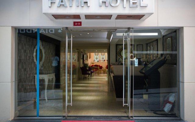 Osmanbey Fatih Hotel Турция, Стамбул - отзывы, цены и фото номеров - забронировать отель Osmanbey Fatih Hotel онлайн вид на фасад