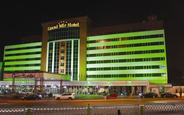 Отель Grand Mir Узбекистан, Ташкент - отзывы, цены и фото номеров - забронировать отель Grand Mir онлайн вид на фасад