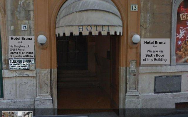 Отель Bruna Италия, Рим - 10 отзывов об отеле, цены и фото номеров - забронировать отель Bruna онлайн вид на фасад