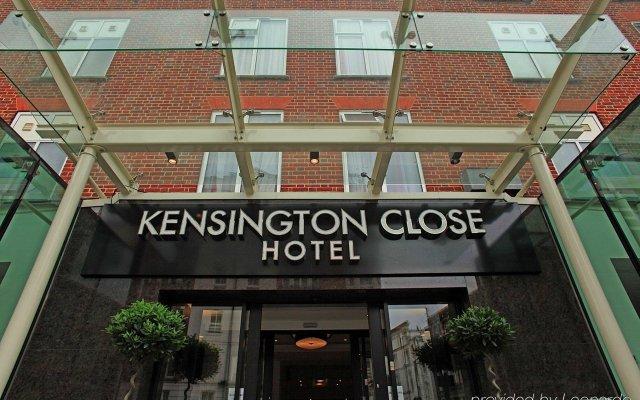 Отель Holiday Inn London - Kensington Великобритания, Лондон - отзывы, цены и фото номеров - забронировать отель Holiday Inn London - Kensington онлайн вид на фасад