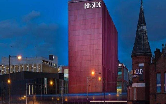Отель INNSIDE By Meliá Manchester Великобритания, Манчестер - отзывы, цены и фото номеров - забронировать отель INNSIDE By Meliá Manchester онлайн вид на фасад