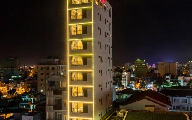 Love Nha Trang Hotel Нячанг вид на фасад