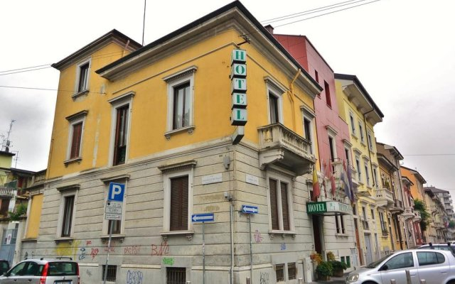 Hotel Trentina Милан вид на фасад