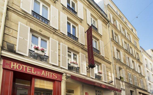 Hotel Des Arts Paris Montmartre вид на фасад