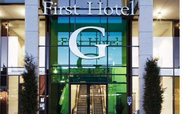 Отель First Hotel G Швеция, Гётеборг - отзывы, цены и фото номеров - забронировать отель First Hotel G онлайн вид на фасад