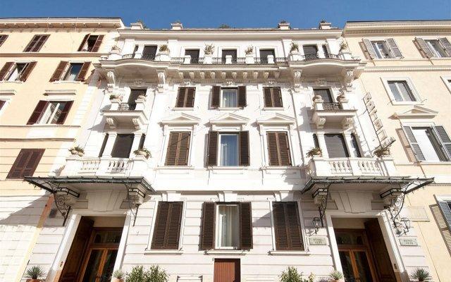 Отель Alpi Италия, Рим - 8 отзывов об отеле, цены и фото номеров - забронировать отель Alpi онлайн вид на фасад