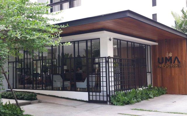 Отель UMA Residence Таиланд, Бангкок - отзывы, цены и фото номеров - забронировать отель UMA Residence онлайн вид на фасад