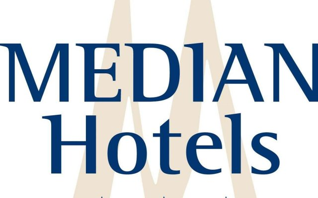 Median Hotel Hannover Messe вид на фасад