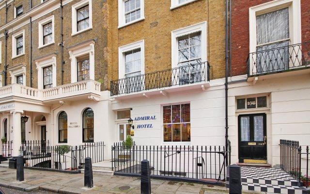 Отель Admiral Hotel at Park Avenue Великобритания, Лондон - отзывы, цены и фото номеров - забронировать отель Admiral Hotel at Park Avenue онлайн вид на фасад