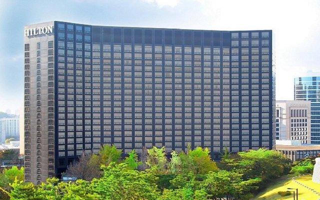 Отель Millennium Hilton Seoul Южная Корея, Сеул - 1 отзыв об отеле, цены и фото номеров - забронировать отель Millennium Hilton Seoul онлайн вид на фасад