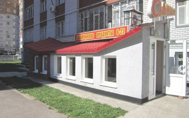 Отель Жилые помещения Камея Казань вид на фасад