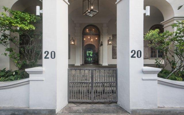 Отель 20 Middle Street вид на фасад