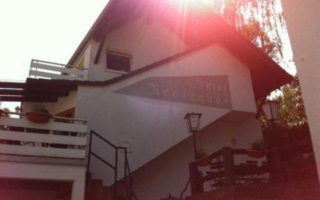 Hotel Reesenhof Витте вид на фасад