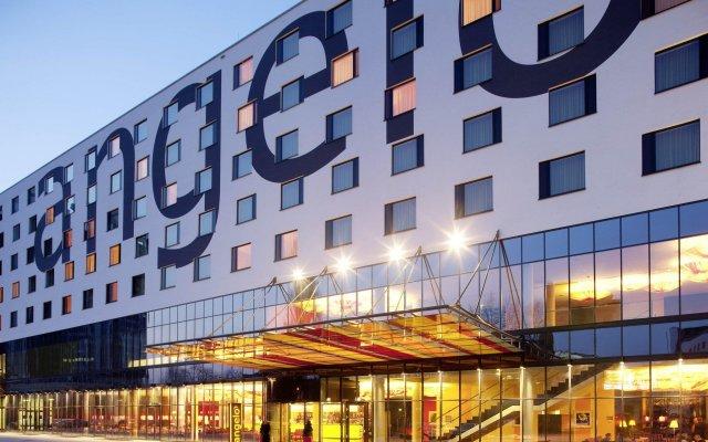 Отель Angelo By Vienna House Katowice вид на фасад