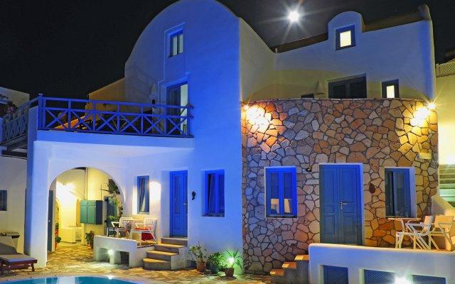 Отель Sea Side Beach Hotel Греция, Остров Санторини - отзывы, цены и фото номеров - забронировать отель Sea Side Beach Hotel онлайн вид на фасад