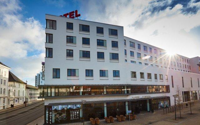 Отель CABINN Aalborg Hotel Дания, Алборг - отзывы, цены и фото номеров - забронировать отель CABINN Aalborg Hotel онлайн вид на фасад