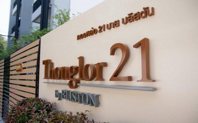 Отель Thonglor 21 Residence By Bliston Бангкок вид на фасад