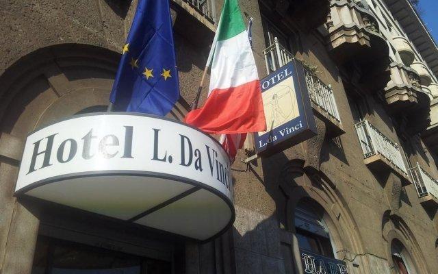Отель Leonardo da Vinci Италия, Милан - отзывы, цены и фото номеров - забронировать отель Leonardo da Vinci онлайн вид на фасад