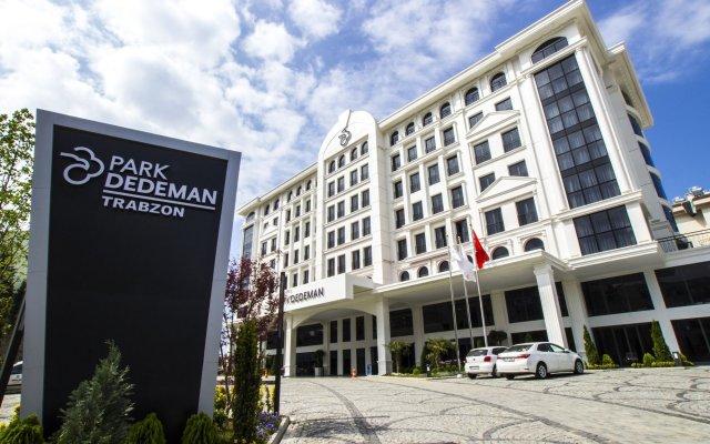 Отель Park Dedeman Trabzon вид на фасад