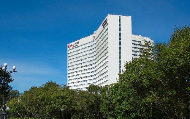Гостиница АЗИМУТ Отель Мурманск в Мурманске - забронировать гостиницу АЗИМУТ Отель Мурманск, цены и фото номеров вид на фасад