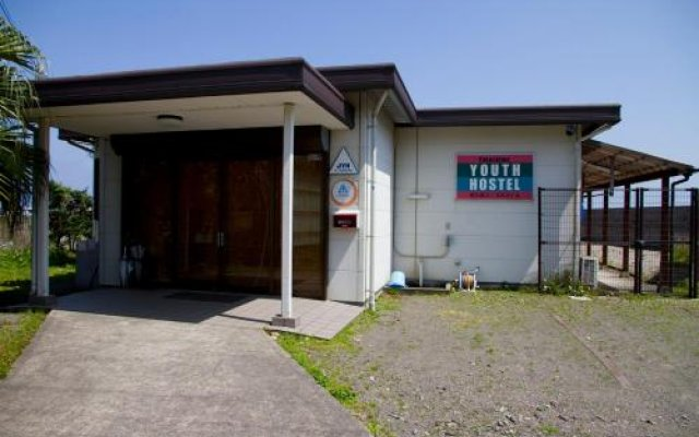 Yakushima Youth Hostel Якусима вид на фасад