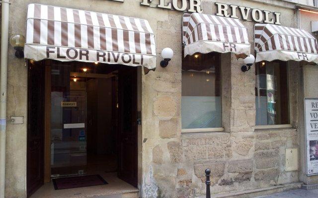 Отель Hôtel Flor Rivoli Франция, Париж - 4 отзыва об отеле, цены и фото номеров - забронировать отель Hôtel Flor Rivoli онлайн вид на фасад