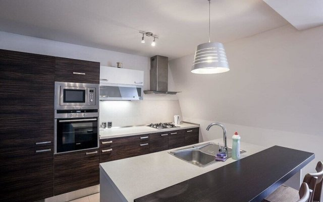 Отель Apt under Prague Eiffel Tower - 2 Br Apts Прага