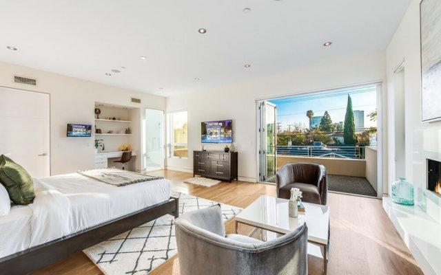 Отель Villa Mode США, Лос-Анджелес - отзывы, цены и фото номеров - забронировать отель Villa Mode онлайн комната для гостей