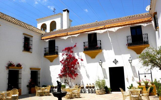 Отель Hacienda El Santiscal - Adults Only вид на фасад