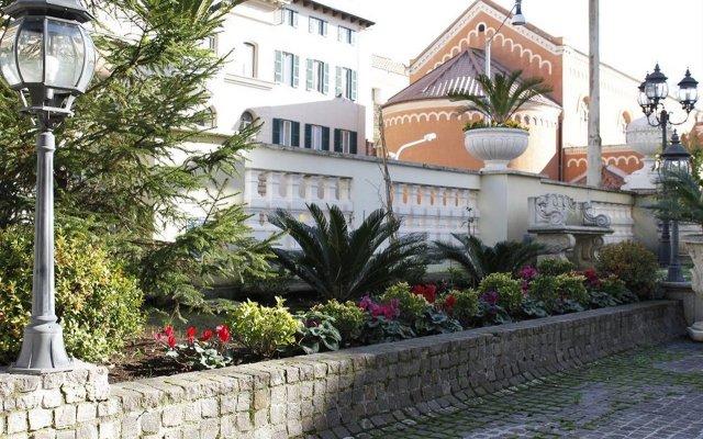 Отель Villa Pinciana вид на фасад