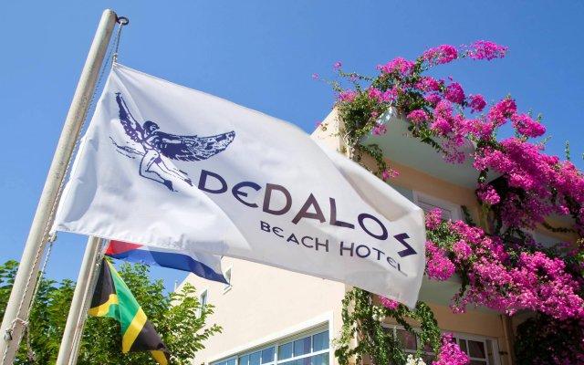 Dedalos Beach Hotel вид на фасад