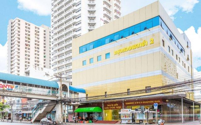 Отель Leela Orchid Бангкок вид на фасад