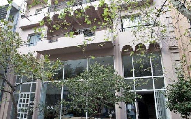 Отель Art Suites Афины вид на фасад