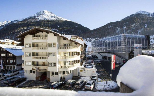 Отель Valentin Австрия, Зёльден - отзывы, цены и фото номеров - забронировать отель Valentin онлайн вид на фасад