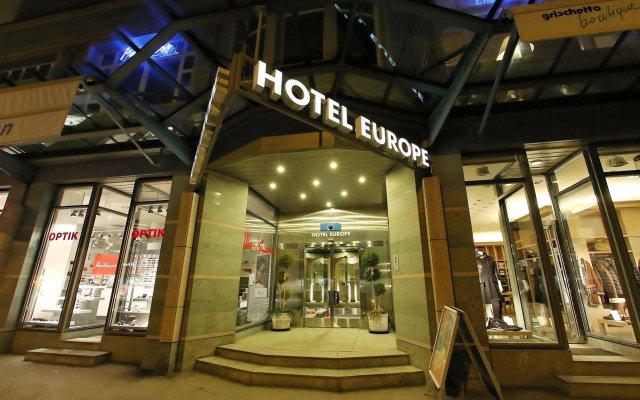 Отель Europe Швейцария, Давос - отзывы, цены и фото номеров - забронировать отель Europe онлайн вид на фасад