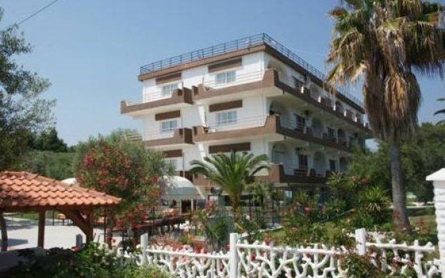 Отель Olympic Bibis Hotel Греция, Метаморфоси - отзывы, цены и фото номеров - забронировать отель Olympic Bibis Hotel онлайн вид на фасад