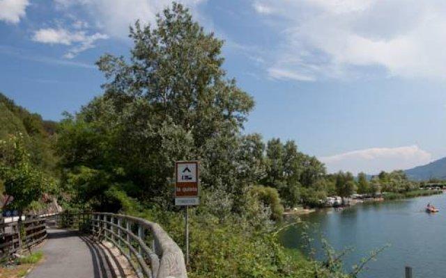 Отель Camping La Quiete Италия, Вербания - отзывы, цены и фото номеров - забронировать отель Camping La Quiete онлайн приотельная территория