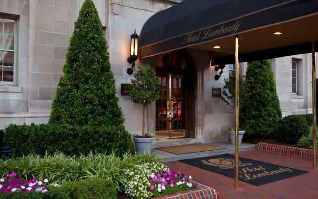 Hotel Lombardy вид на фасад