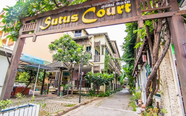 Отель Sutus Court 1 Паттайя вид на фасад