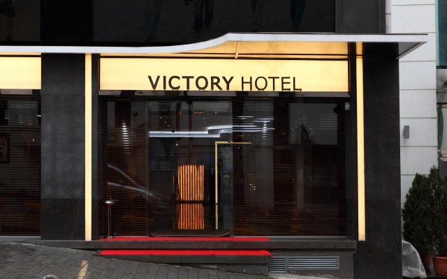 Victory Hotel & Spa Istanbul вид на фасад