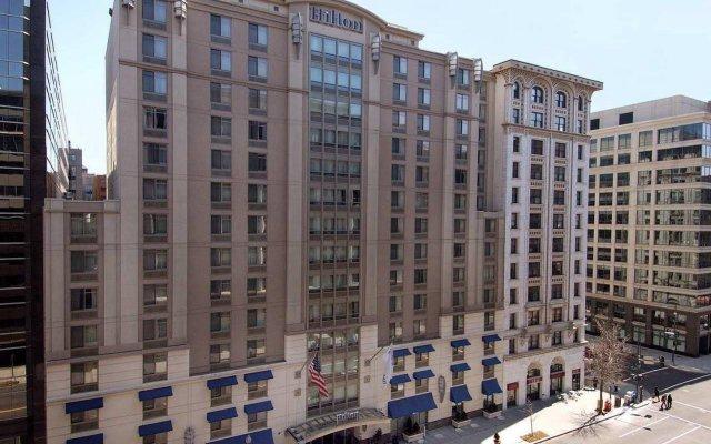 Отель Hilton Garden Inn Washington Dc Downtown США, Вашингтон - отзывы, цены и фото номеров - забронировать отель Hilton Garden Inn Washington Dc Downtown онлайн вид на фасад