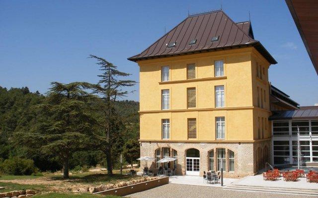 Отель Balneario Rocallaura Вальбона-де-лес-Монжес вид на фасад