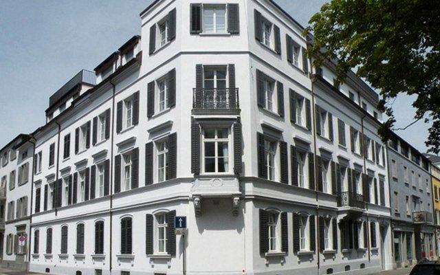 Отель VISIONAPARTMENTS Zurich Gerechtigkeitsgasse вид на фасад