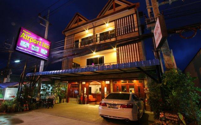 Отель Phuket Airport Inn вид на фасад
